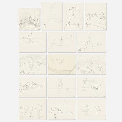 Alexander Calder, 'Circus portfolio', 1964