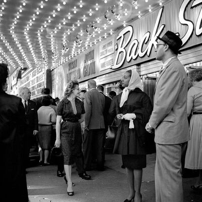 Vivian Maier, 'At the Balaban & Katz United Artists Theater, Chicago, IL', 1961