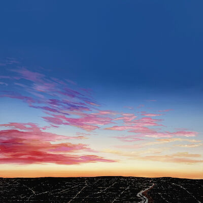 Kristin Moore, 'Sunset Over The 10', 2020