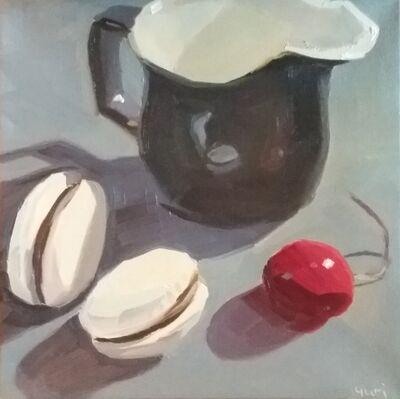 Yuri Tayshete, 'Milk Pitcher and Macarons', 2020