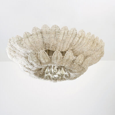 """Louis Süe and André Mare, 'Ceiling light """"plume""""', ca. 1920"""