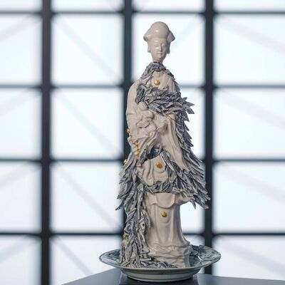 Bouke de Vries, 'Guan Yin with Porcelain Shards', 2020