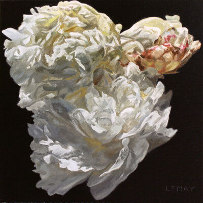 Robert Lemay, 'White Peony Study', 2021