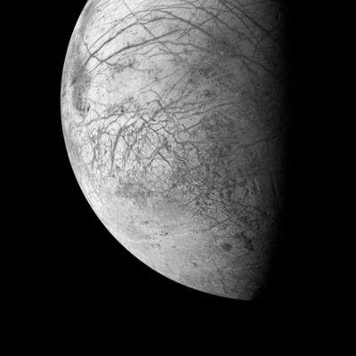 Michael Benson, 'Europa, Jupiter's Ocean Moon, Galileo, March 29, 1998', 2003