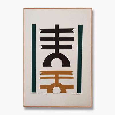 Rubem Valentim, 'Emblemas', 1974