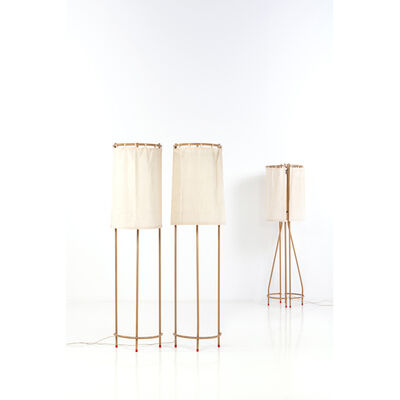 Pietro Derossi, 'Pair of lamps', early 1980