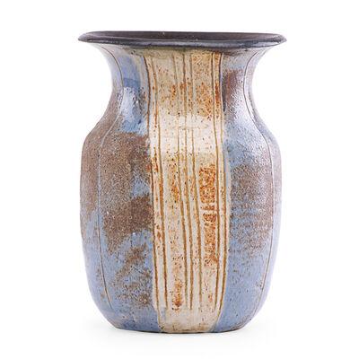 Marguerite Wildenhain, 'Vase with vertical lines, Guerneville, CA'