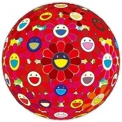 Takashi Murakami, 'Red Flower Ball (3-D)', 2013