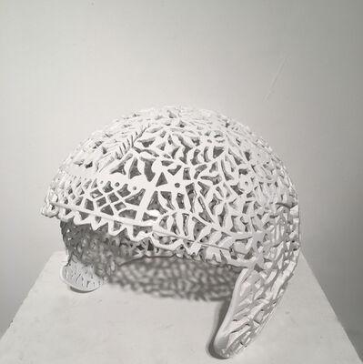Debanjan Roy, 'Helmet (White)', 2016