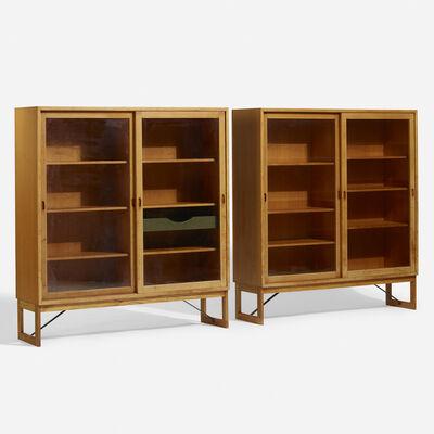 Börge Mogensen, 'Display cases, pair', c. 1955