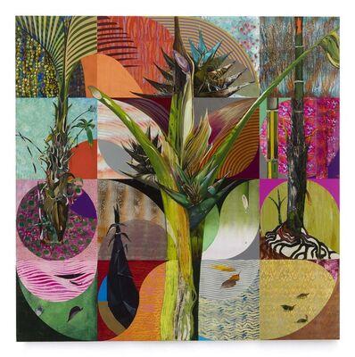 Luiz Zerbini, 'Árvore do Viajante', 2020