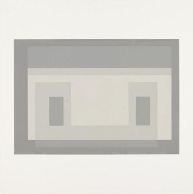 Josef Albers, 'from Ten Variants', 1966