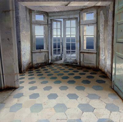 Matteo Massagrande, 'La luce dal tetto', 2019