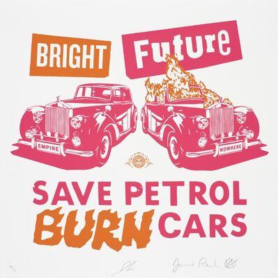 Shepard Fairey, 'Bright Future (pink/orange)', 2012