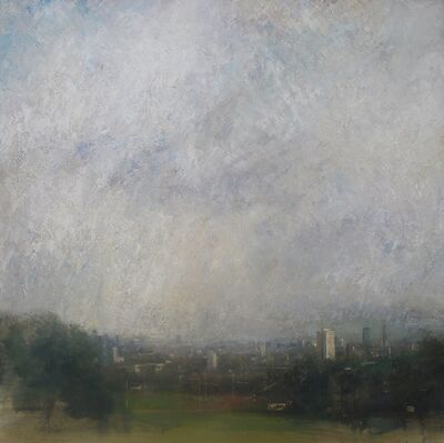 Benjamin Warner, 'Late Afternoon, Parliament Hill', 2014