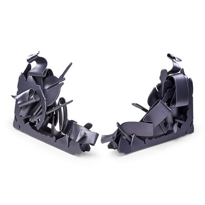 Albert Paley, 'Two Massive Bookends, Rochester, NY', 2000