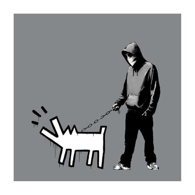 Banksy, 'Choose Your Weapon (Grey) ', 2010