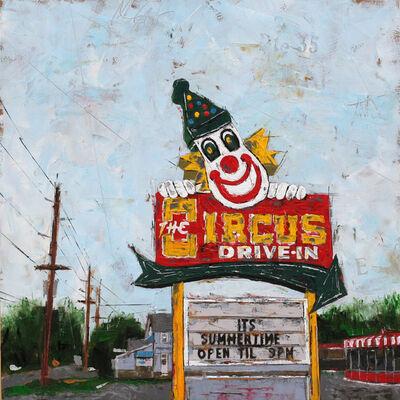 """Emily Thompson, '""""Circus Drive Inn""""', 2017"""