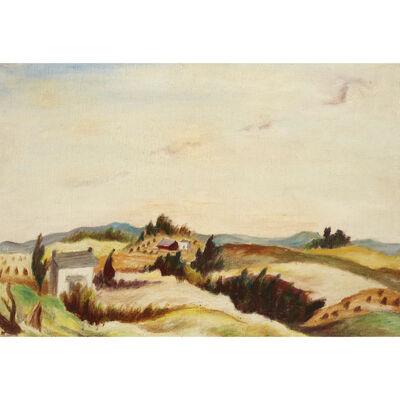 Jackson Pollock, 'Pennsylvania Landscape', 1936