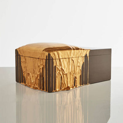 Nancy Lorenz, 'Red Gold Pour Box ', 2019