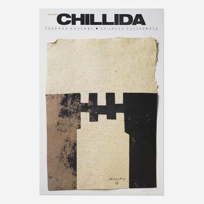 Eduardo Chillida, 'exhibition poster', 1982