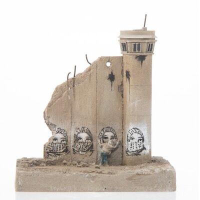 Banksy, 'SUMMER SALE / Banksy Walled Off Hotel Wall Sculpture - KEFFIYEH -2018', 2018