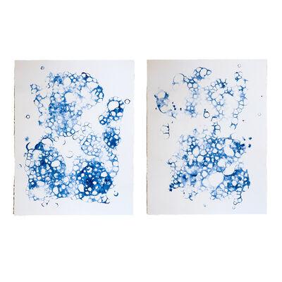 Joseph Villeneuve, 'Diptych in Blue', 2014