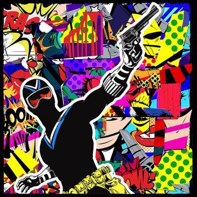 Agent X, 'The adventures of Dixwell Hastings (episode 85) (Pop Art, Street Art, Urban Art)', 2021