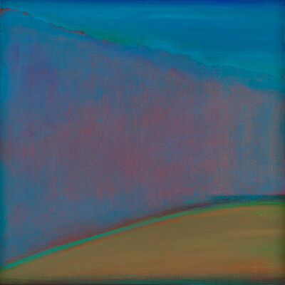 "Gail Morris, '""Hillside Twilight""', 2019"