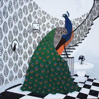 Lisa Ng, 'Peacock Descending A Staircase', 2020