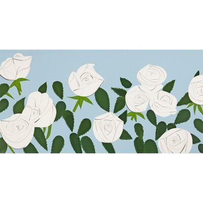 Alex Katz, 'White Roses', 2014