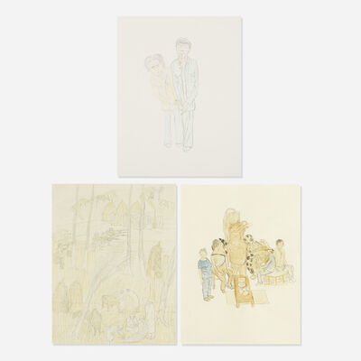 Yun-Fei Ji 季云飞, 'collection of three works'