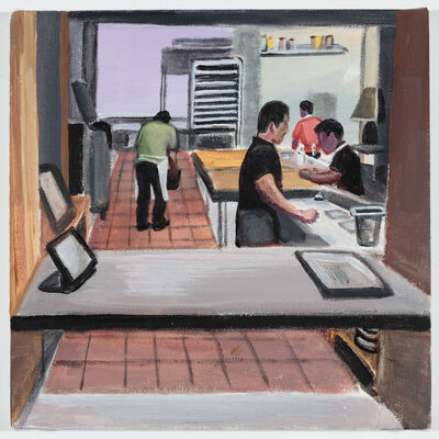 Ramiro Gomez, 'Back of House (line cooks at a Hollywood restaurant)', 2018