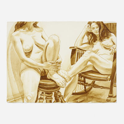 Philip Pearlstein, 'Untitled', 1974
