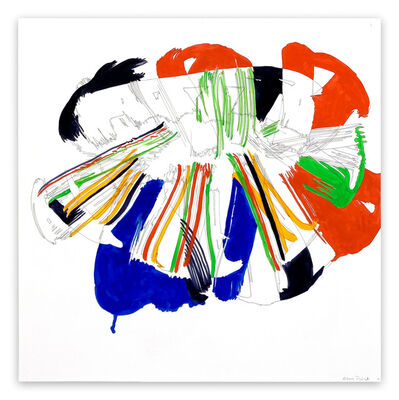 Ellen Priest, 'Jazz Cubano #41: Percussion Drawing (Abstract painting)', 2012
