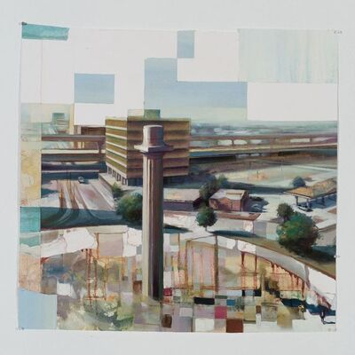 Isaac Payne, 'A View from Lee Circle', 2019