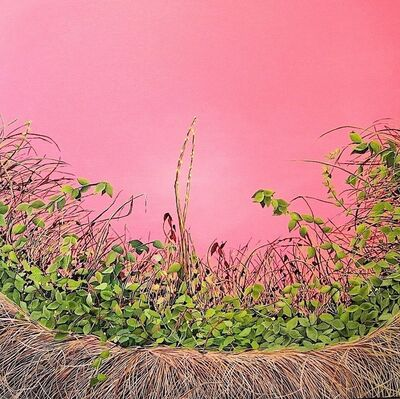 Allison Green, 'Pink Thicket (Thicket #2)', 2011