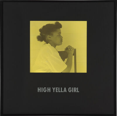 Carrie Mae Weems, 'High Yella Girl from Colored People', 1988-1989