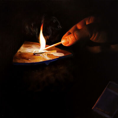 Anna Wypych, 'Lighting a fire', 2020