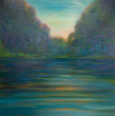 Jim Schantz, 'Late August River'