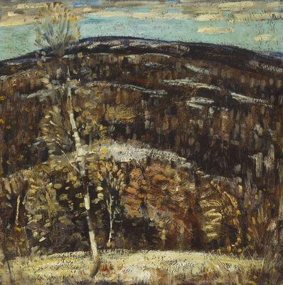 Marsden Hartley, 'The Hill ', 1907-1908