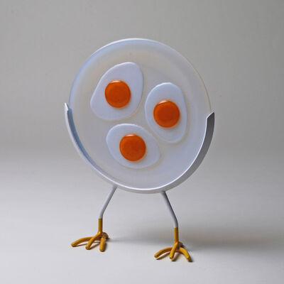 Jim Scheller, 'Fried Eggs and Chicken Legs', 2020