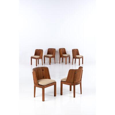 Axel Einar Hjorth, 'Lovö Model Set of six chairs', vers 1930