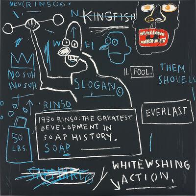 Jean-Michel Basquiat, 'Rinso', 1983/2001