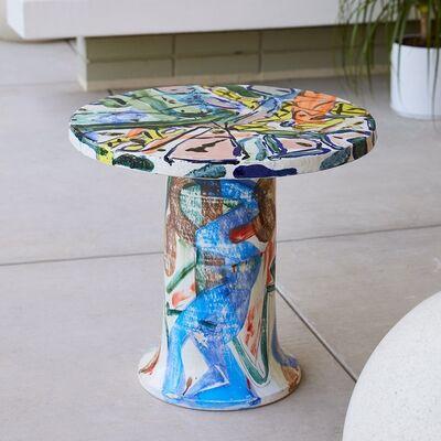 Reinaldo Sanguino, 'Round Ceramic Table', 2017
