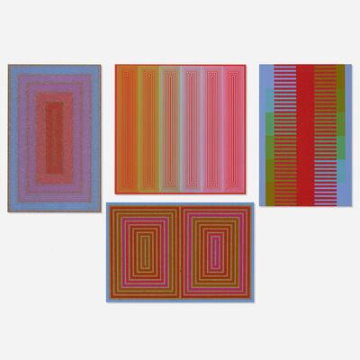 Richard Anuszkiewicz, 'Annual Editions (four works)', 1970-74