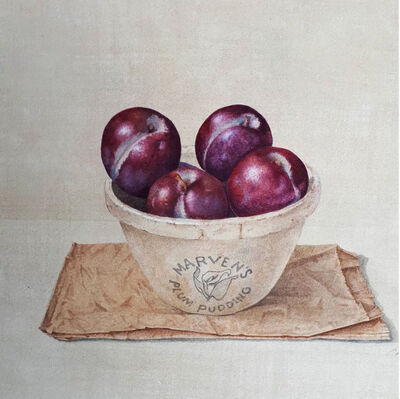 Cathy Ross, 'Red Plums', 2019