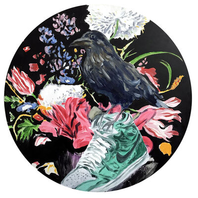 Mads Rafte Hein, 'The Bird, the Flowers and the Sneaker ', 2019