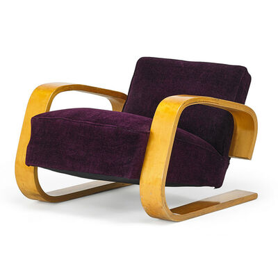 Alvar Aalto, 'Tank chair (no. 37/400), Finland', 1950s