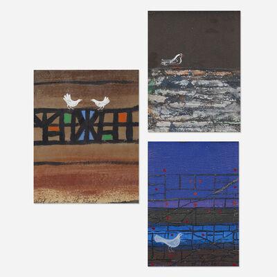 Gyorgy Kepes, 'Untitled (three works)', 1972